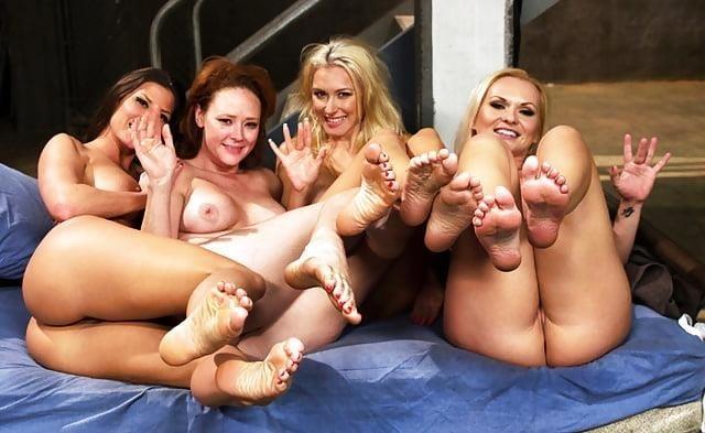 Hot lesbian foot sex-2153
