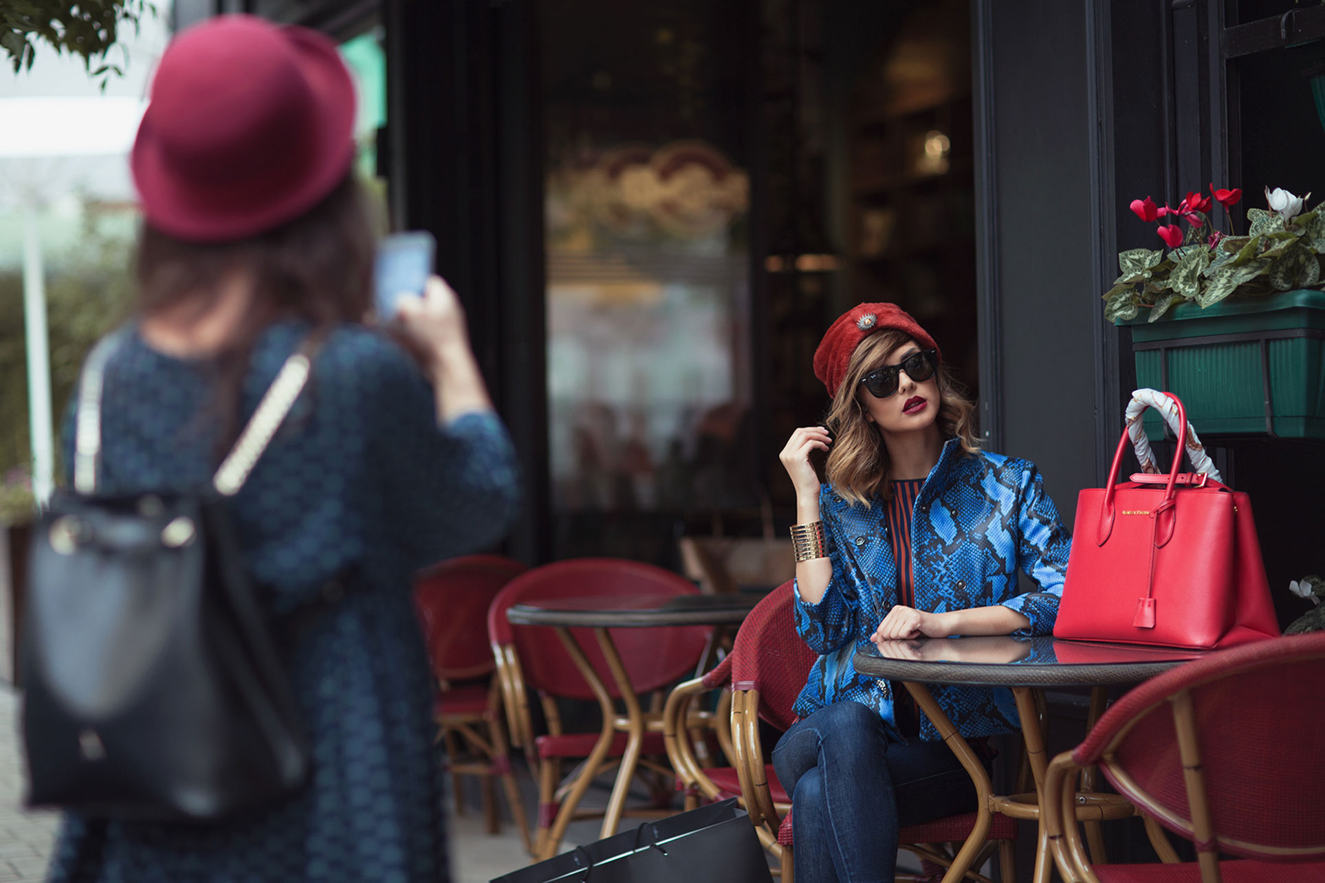 Agnesa Vuthaj by Edvina Meta / Street Style