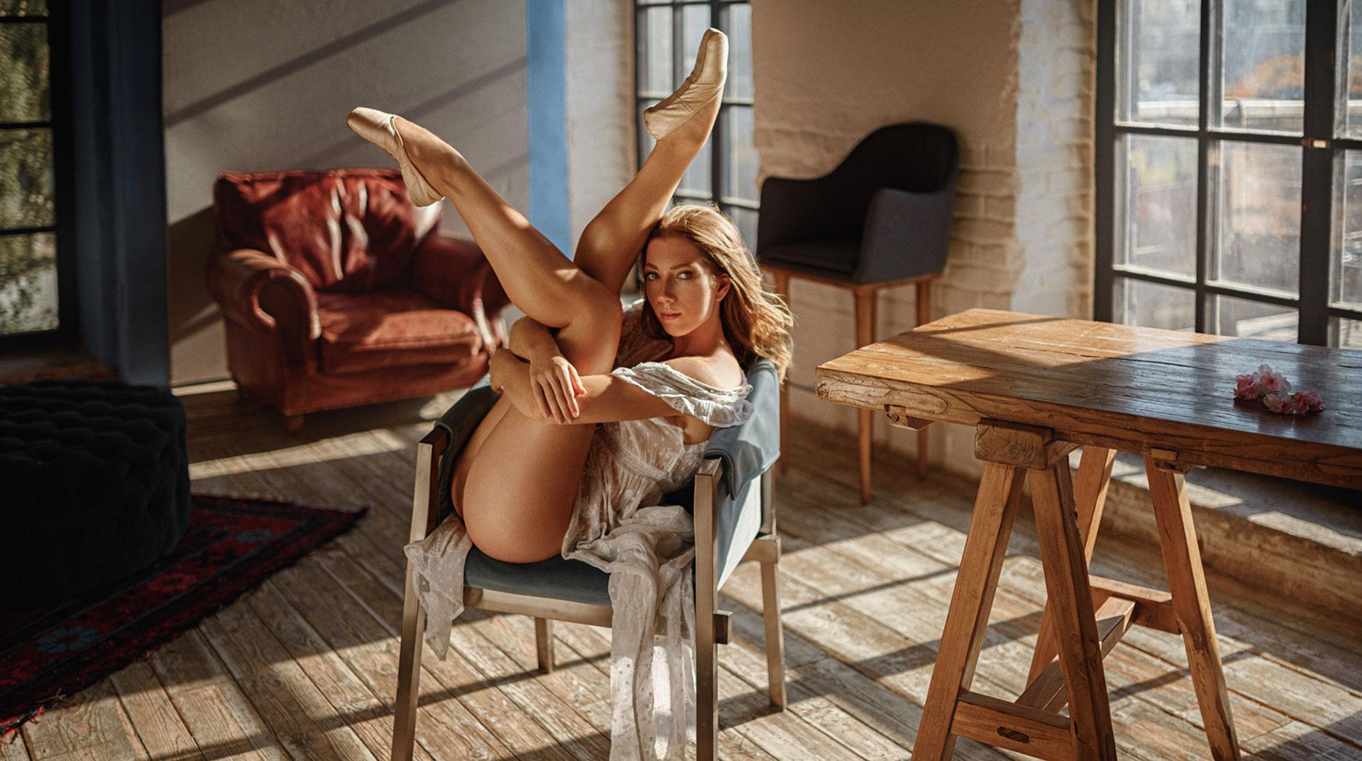 Балерина Анна танцуета сексуальный танец / фото 02