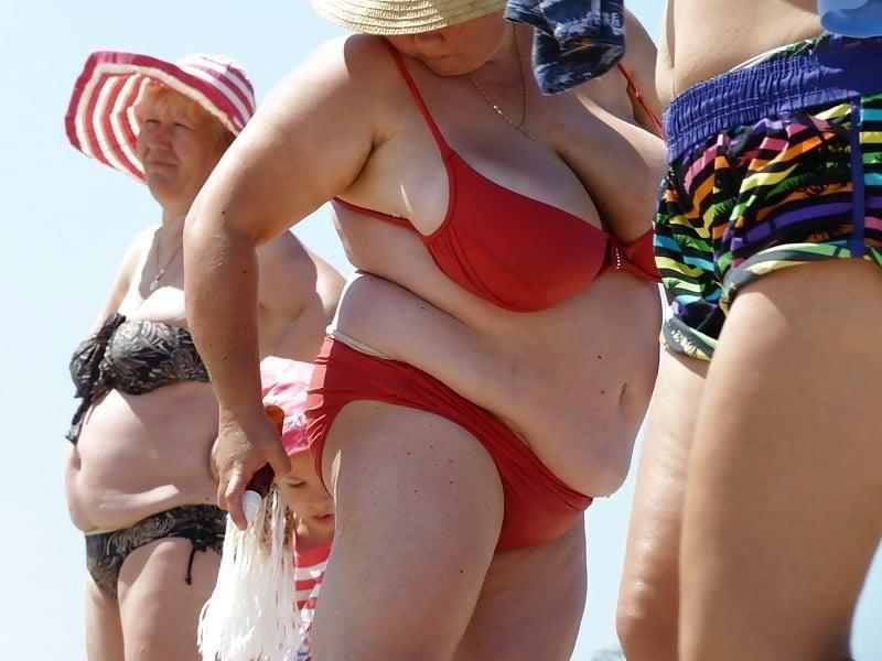 Nude big boobs on beach-6342