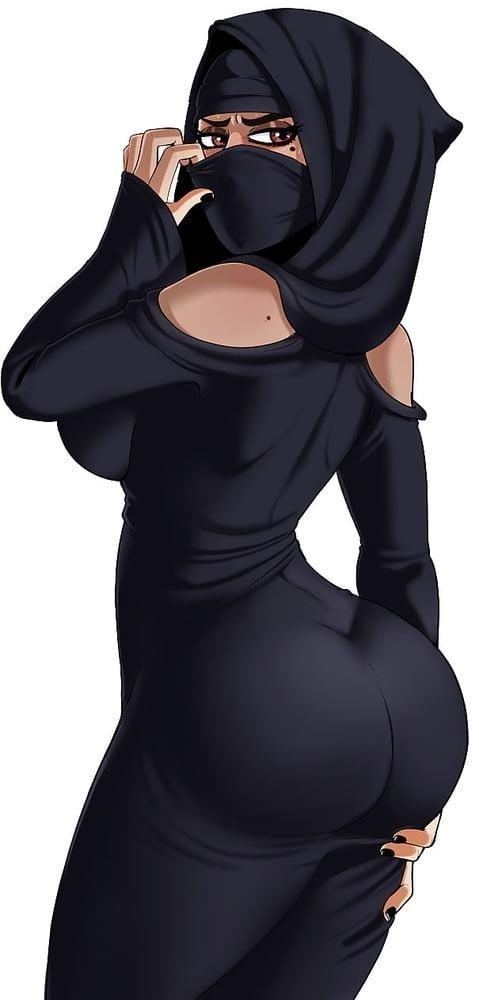 Free arab hijab porn-9904