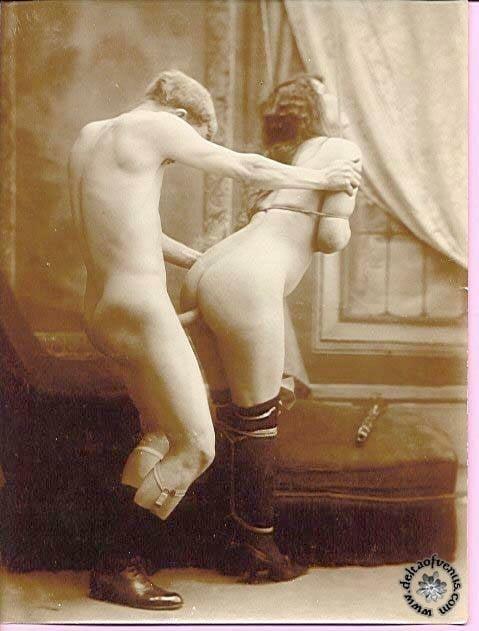 Vintage hairy nude-9016