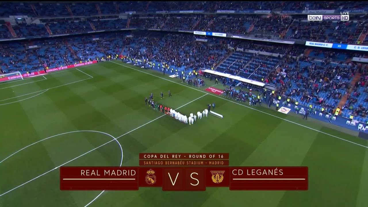 Xem lại: Real Madrid vs Leganes