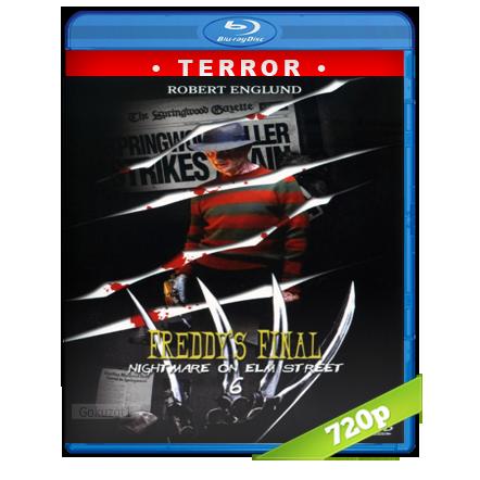 descargar Pesadilla En La Calle Del Infierno 6 [1991][BD-Rip][720p][Trial Lat-Cas-Ing][Terror] gratis