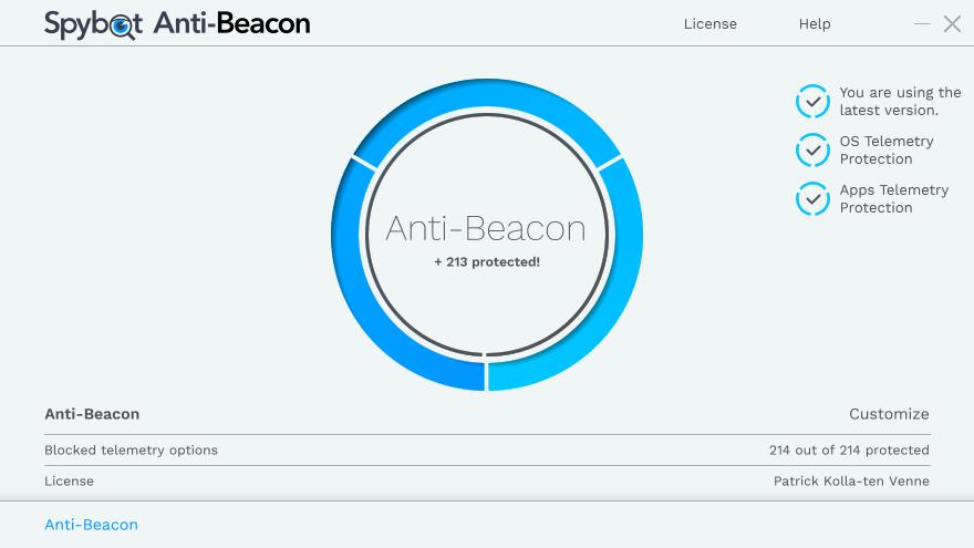 itNoA2BG_o - Spybot Anti-Beacon 3.1 [Bloquea espias en windows] [UL-NF] - Descargas en general