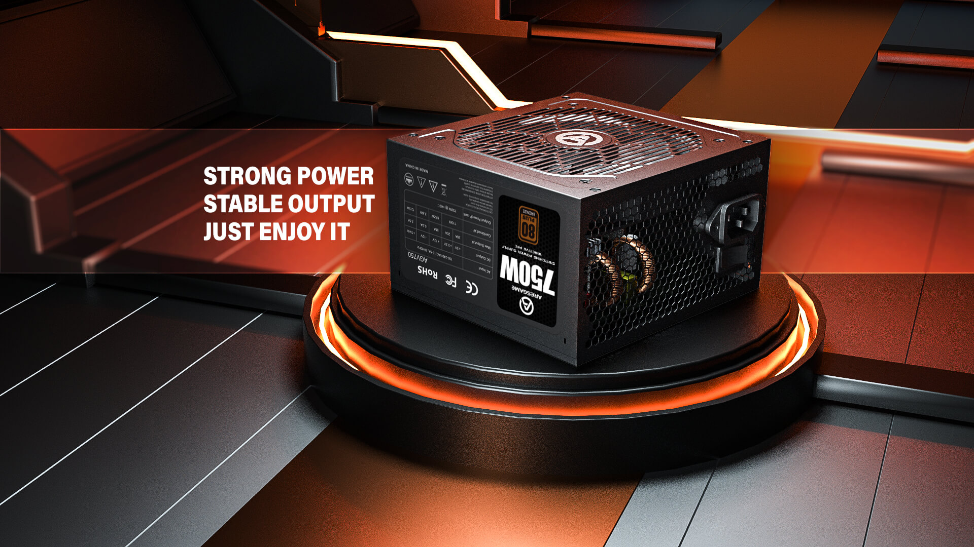 ARESGAME Unveils High-Performance Power Supply Units For Gaming And Available At Factory Cost To Global Market