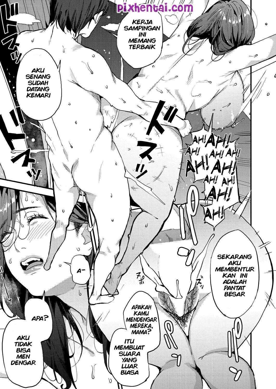 Komik Hentai Together With a Single Mother Manga XXX Porn Doujin Sex Bokep 21