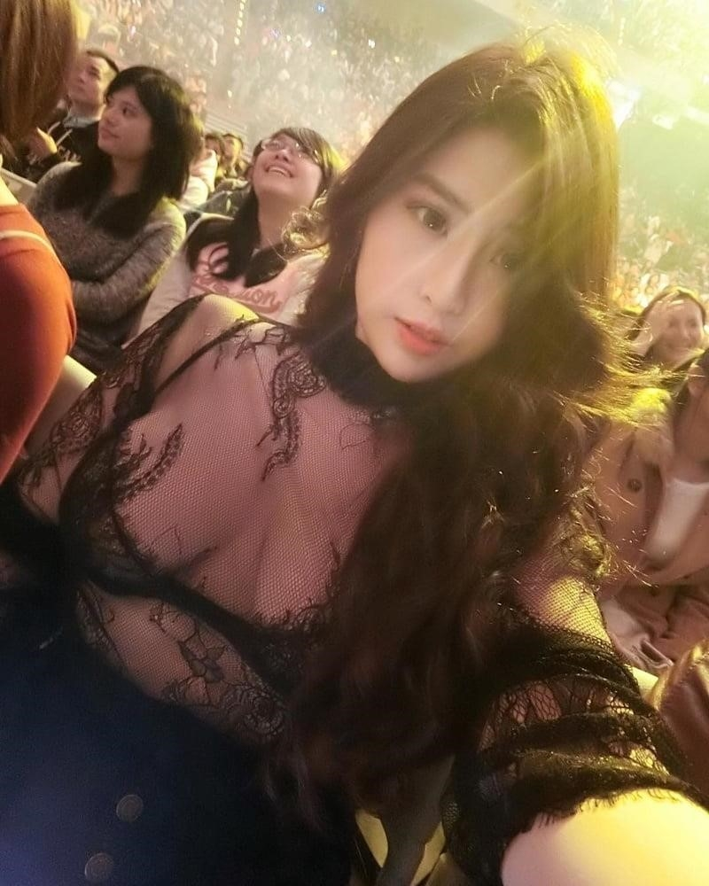 Chubby asian huge tits-8519