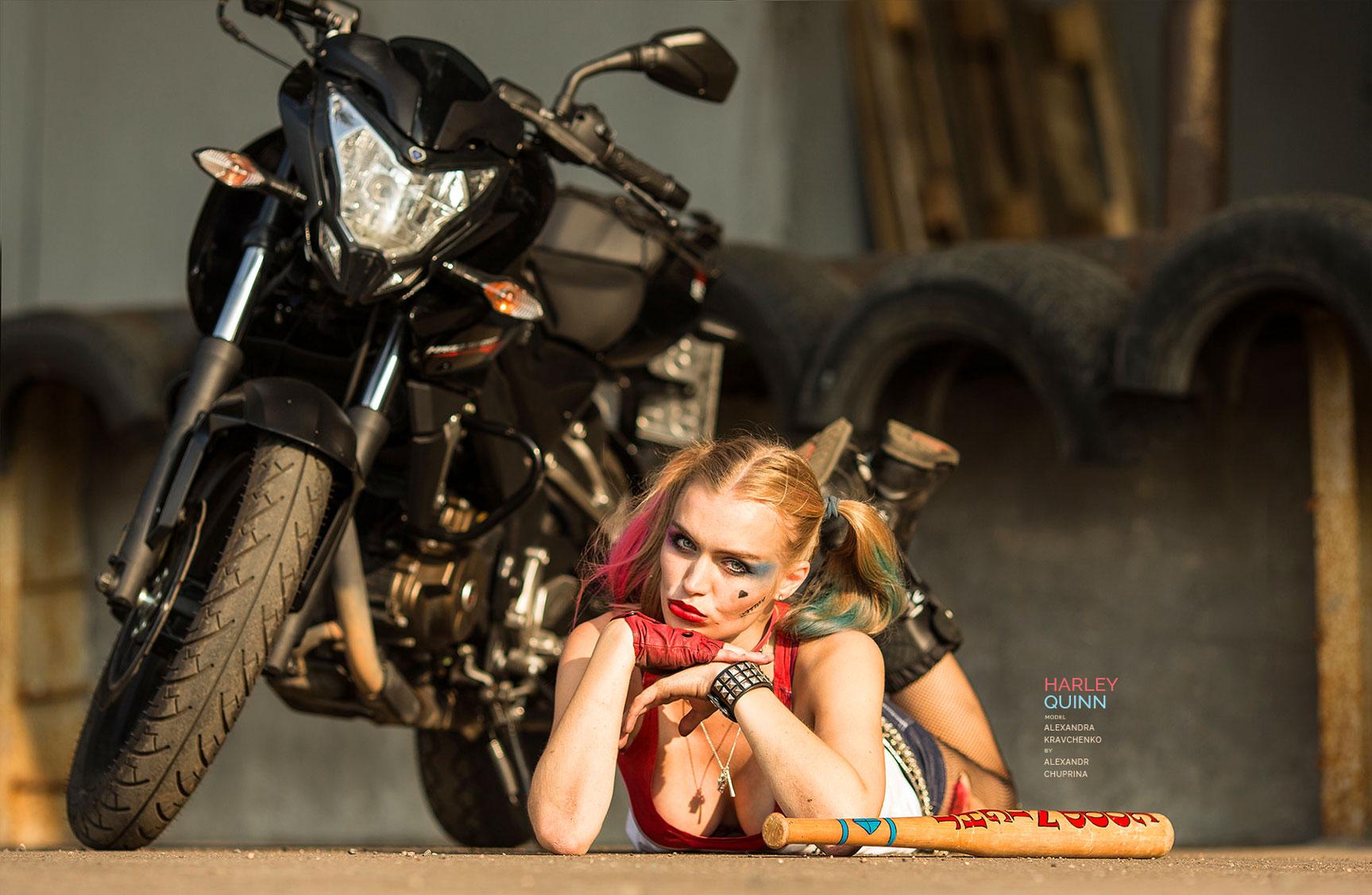 Harley Quinn - Александра Кравченко / Alexandra Kravchenko by Alexandr Chuprina
