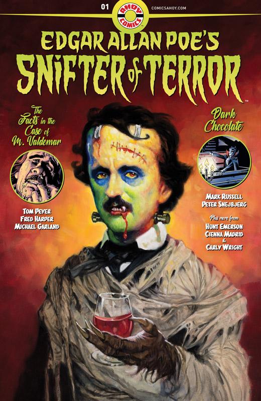 Edgar Allen Poe's Snifter of Terror #1-3 (2018)