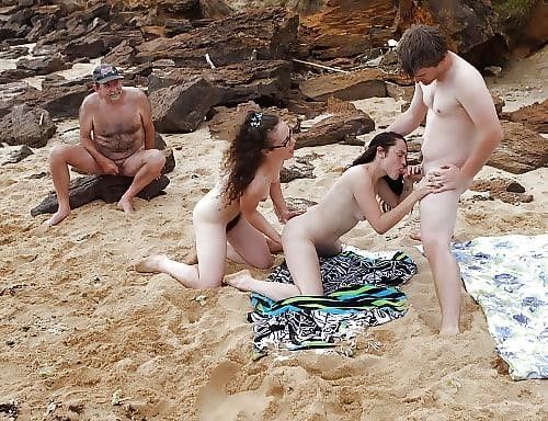 Asian beach orgy-9117