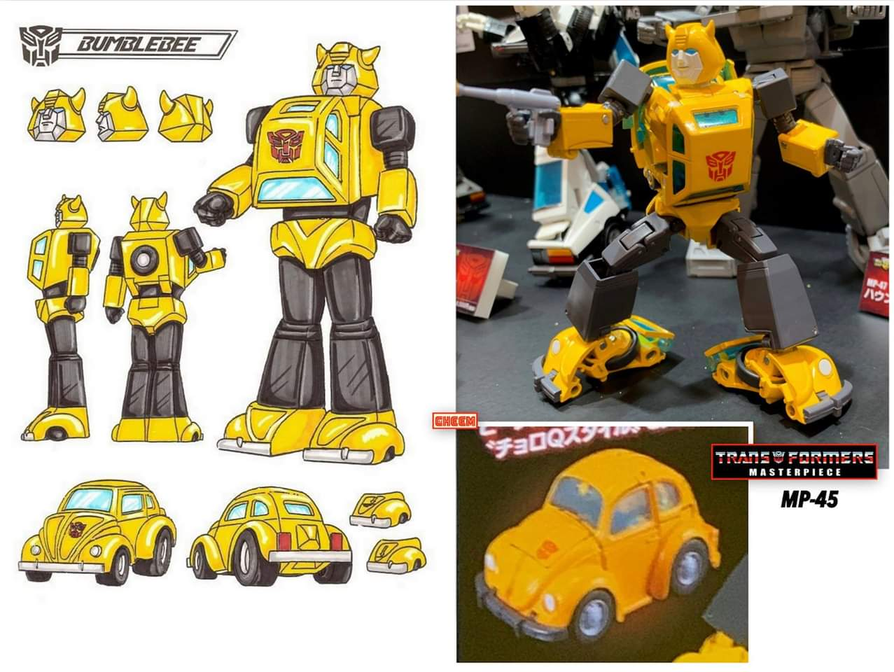 [Masterpiece] MP-45 Bumblebee/Bourdon v2.0 XGu9z8gS_o