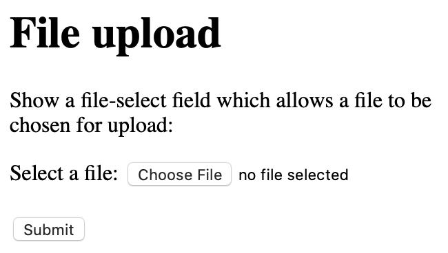 file upload render