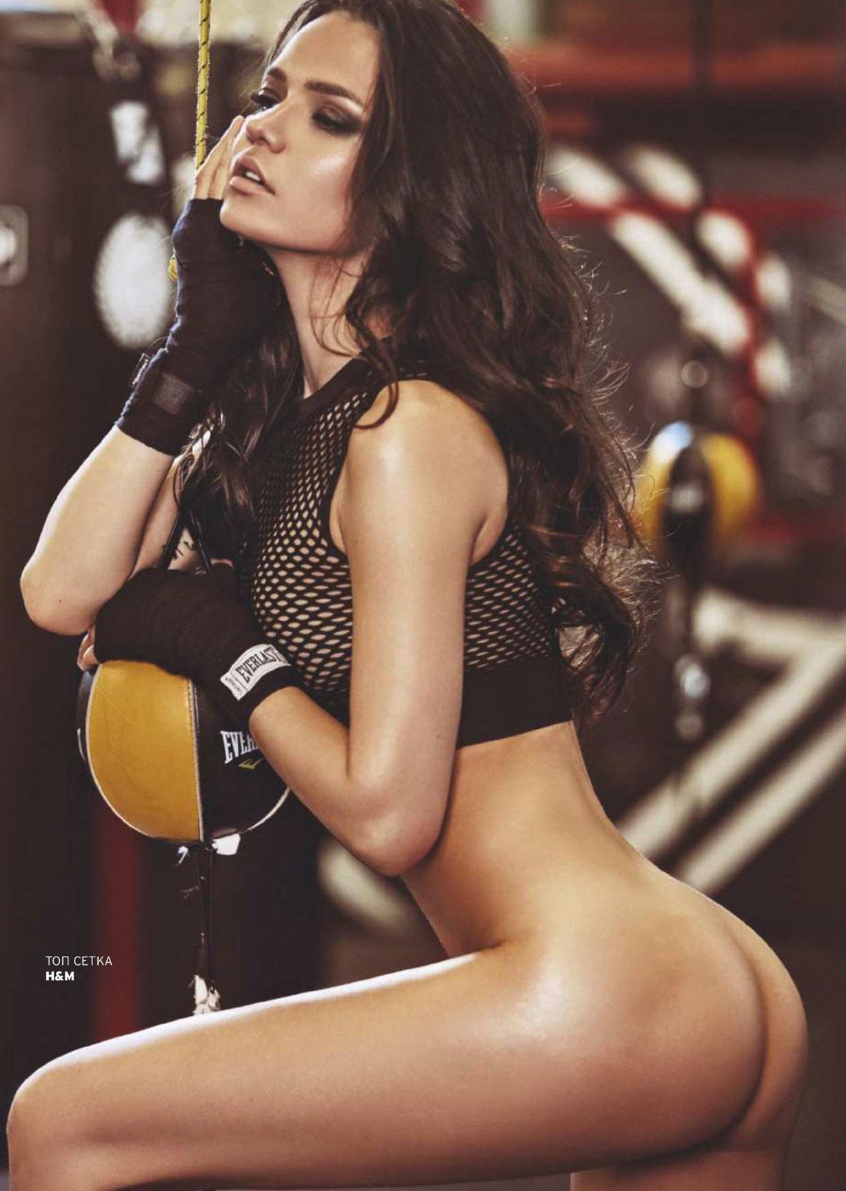 Аделина Шарипова в Playboy Россия, осень 2017 / фотограф Алена Никифорова