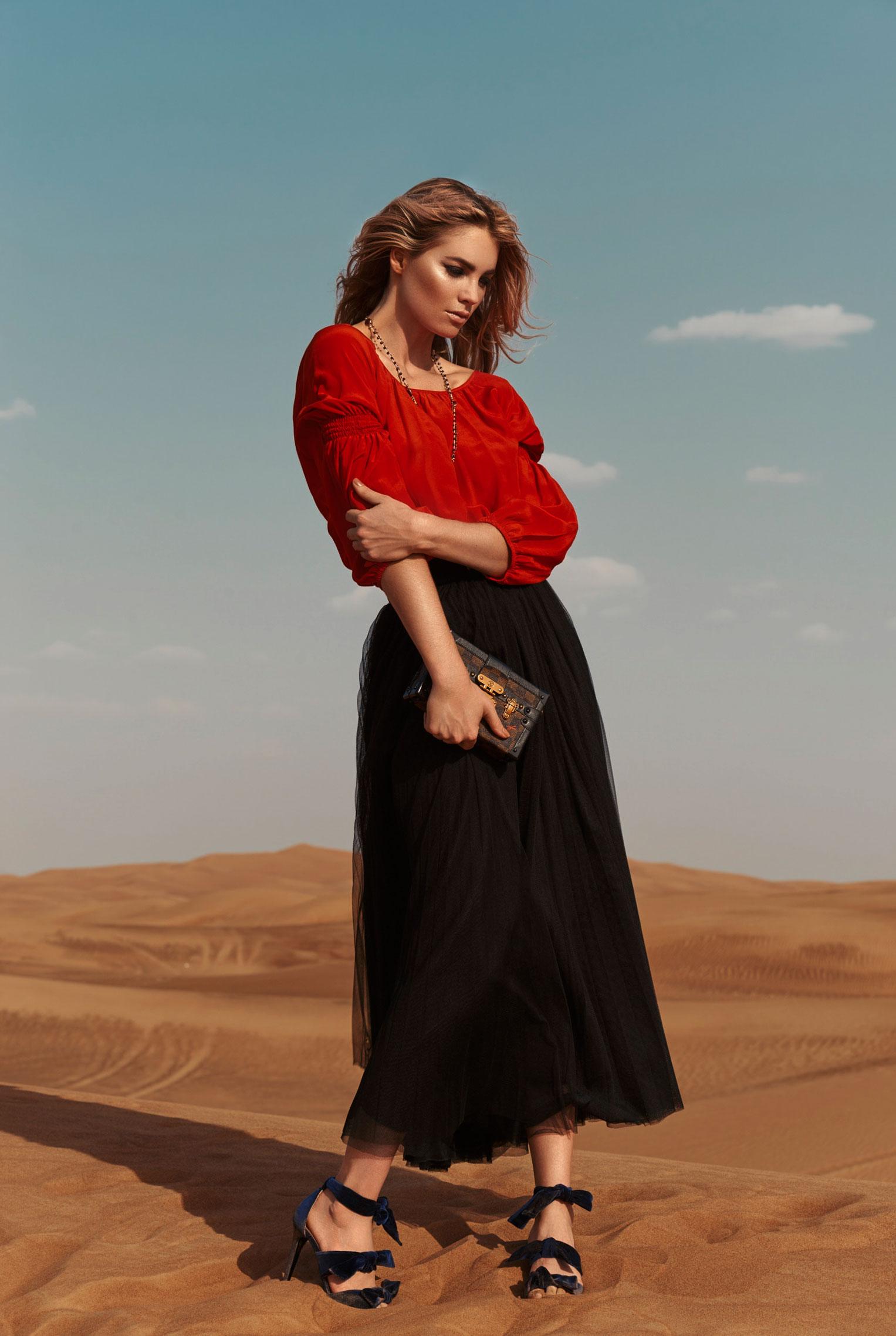 Elyse Taylor by Stefan Imielski / Elle Magazine june 2017