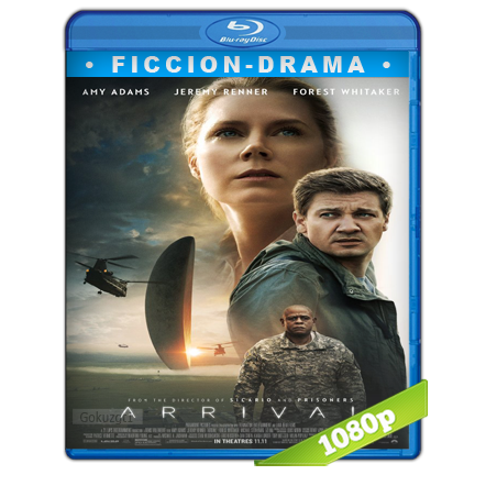 La Llegada (2016) BRRip Full 1080p Audio Trial Latino-Castellano-Ingles 5.1