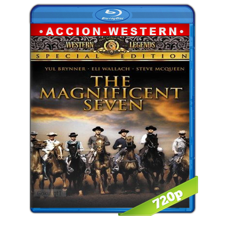 Los Siete Magníficos 720p Lat-Cast-Ing[Western](1960)
