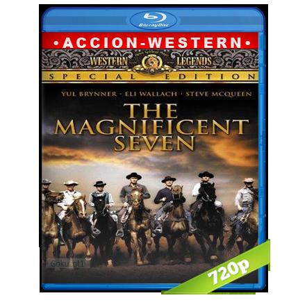 descargar Los Siete Magníficos 720p Lat-Cast-Ing[Western](1960) gartis
