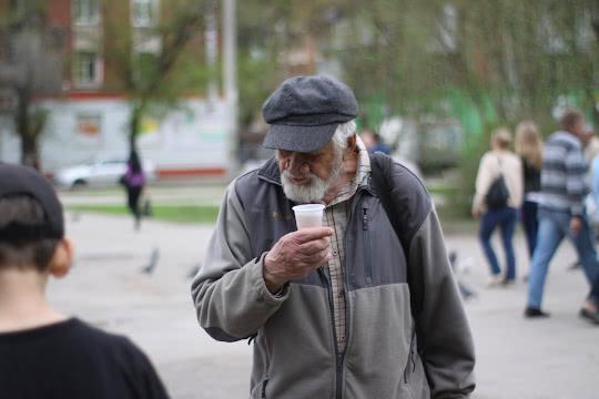 Пенсионеры не редкость