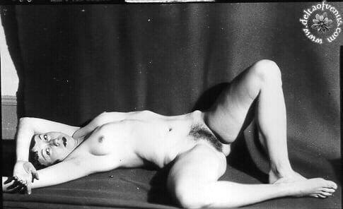 Vintage hairy nude-3514