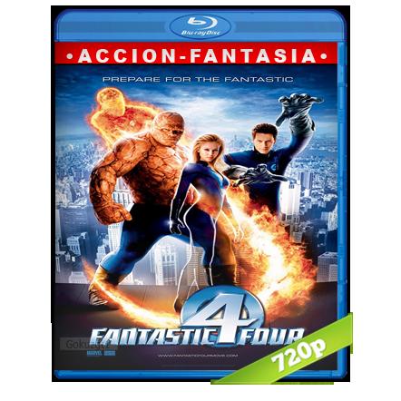 descargar Los 4 Fantasticos 720p Lat-Cast-Ing[Fantástico](2005) gratis