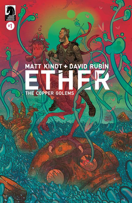 Ether #1-5 - The Copper Golems (2018) Complete