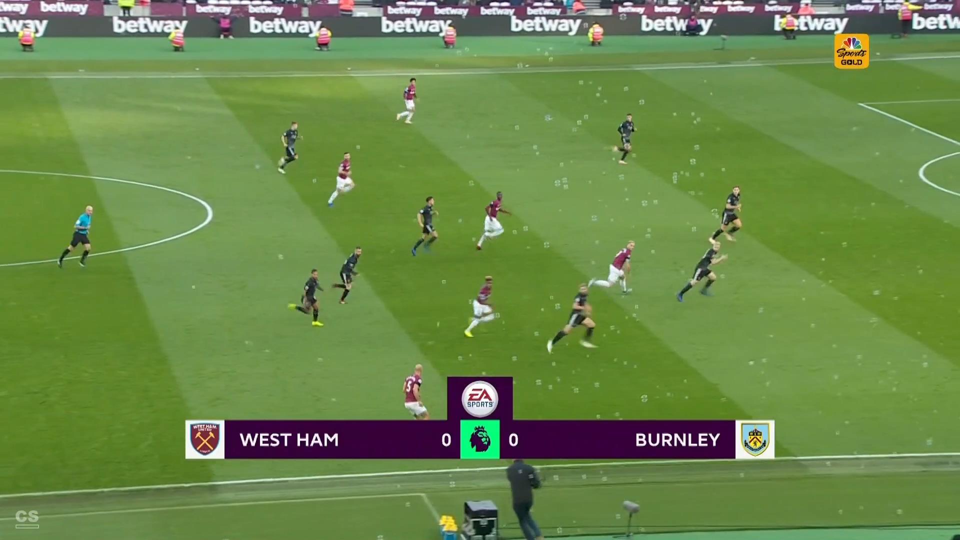 Futbol Epl 18 19 Matchday 11 West Ham United Vs Burnley 03 11 2018