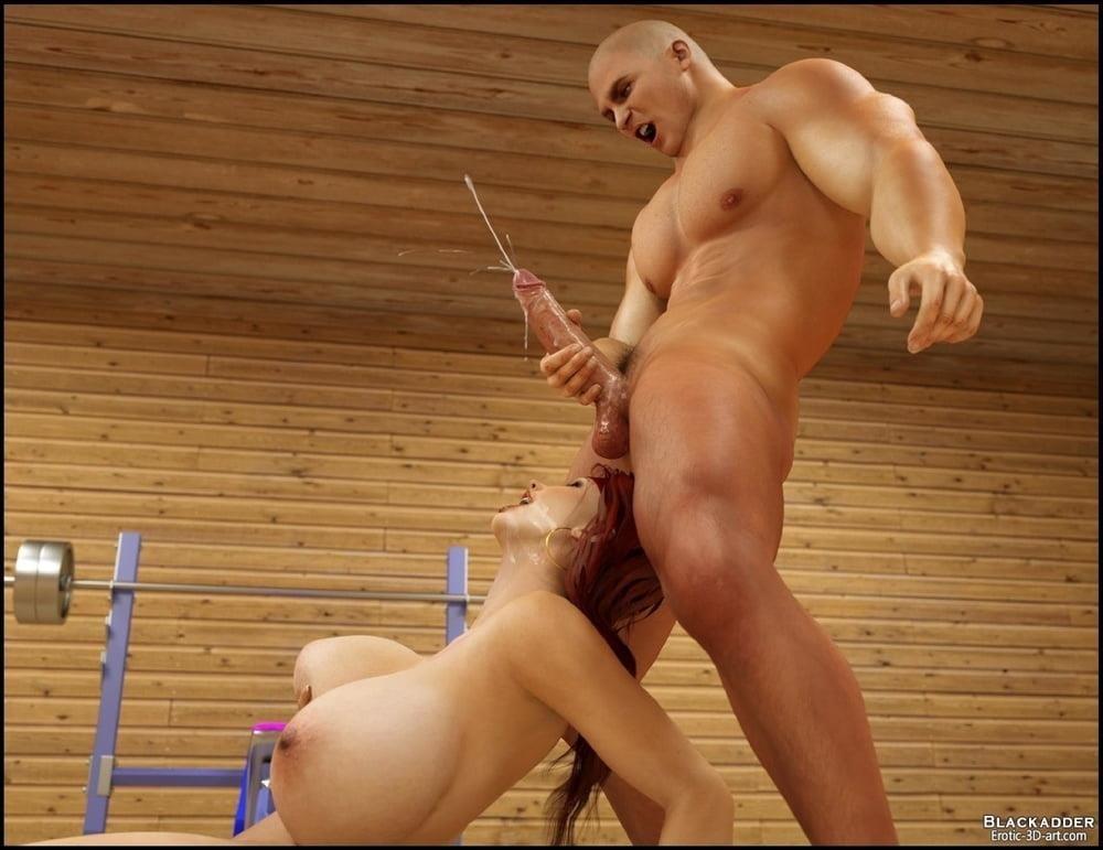 Pornhub in the gym-6305