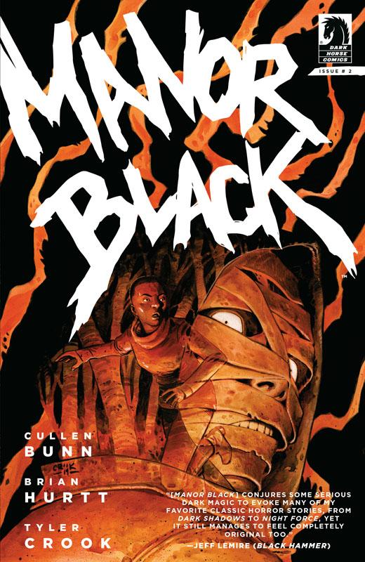 Manor Black #1-4 (2019) Complete