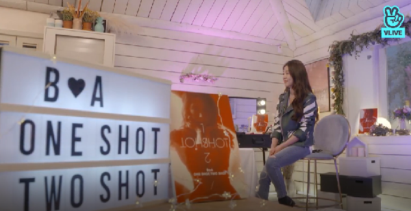 Boa has first live V-live for One Shot Two Shot, SM artist call in to support her