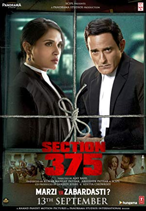 Section 375 (2019) Hindi 720p  HDrip  x264  ACC  DD-5 1  Team Shadow Exclusive