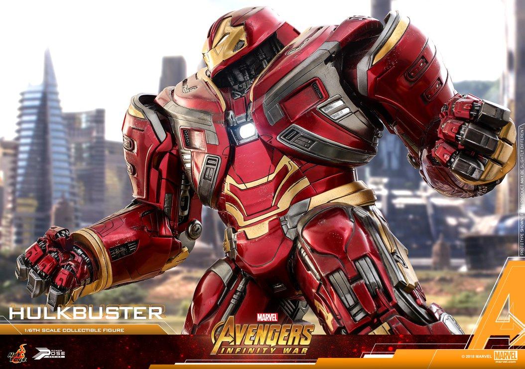 Avengers Infinity War - HulkBuster Mark 2 1/6 (Hot Toys) NUNrY5w9_o