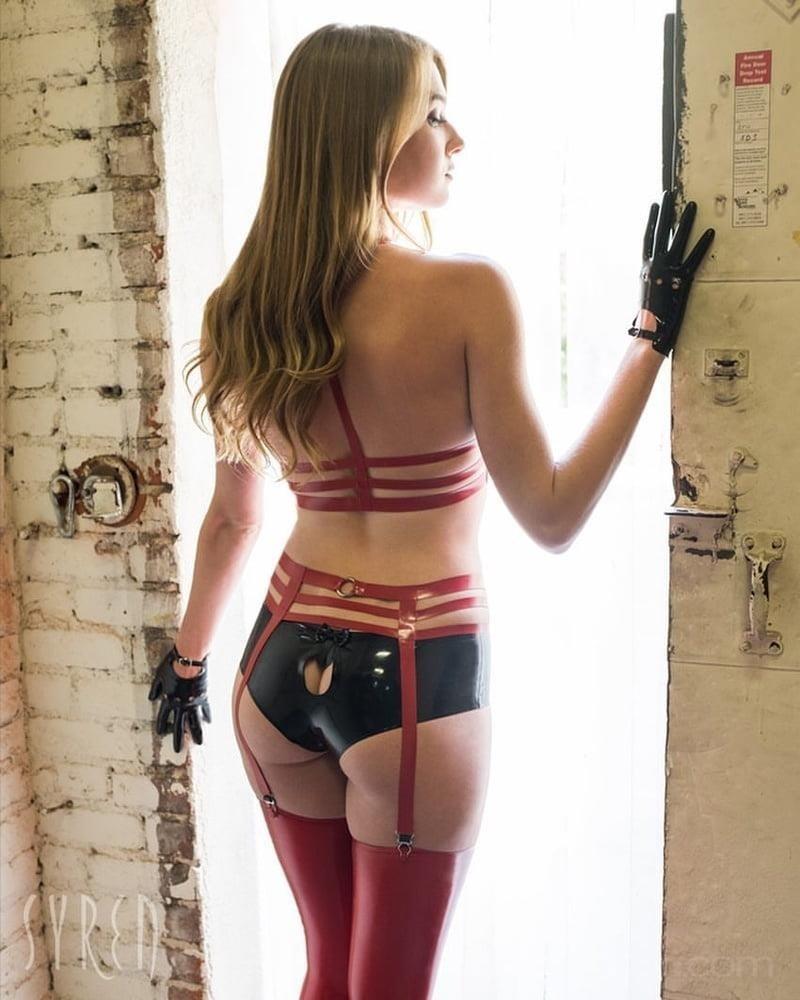 Latex stockings porn pics-4968