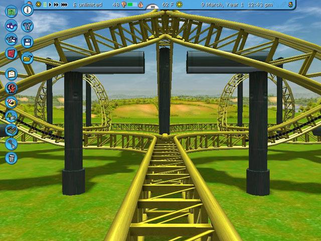 RollerCoaster Tycoon 3: Platinum Captura 3