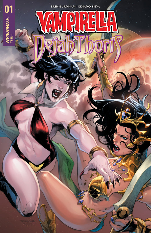Vampirella - Dejah Thoris #1-4 (2018-2019)