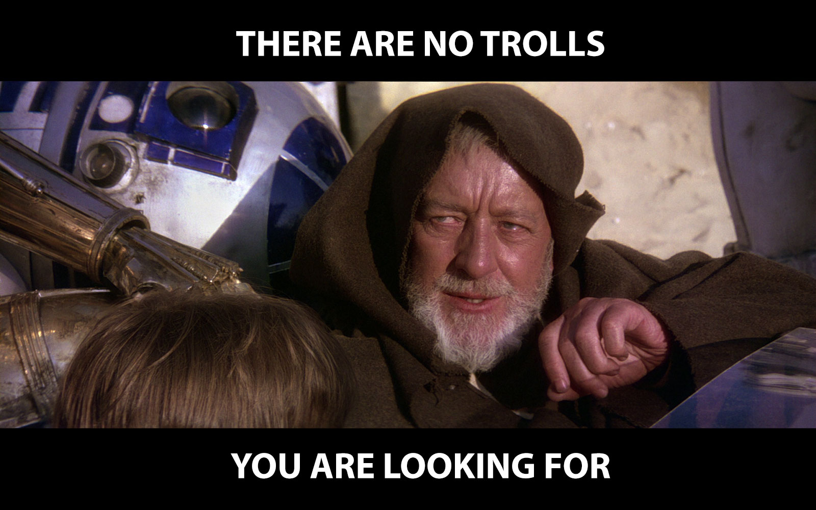 There are no trolls you are looking for