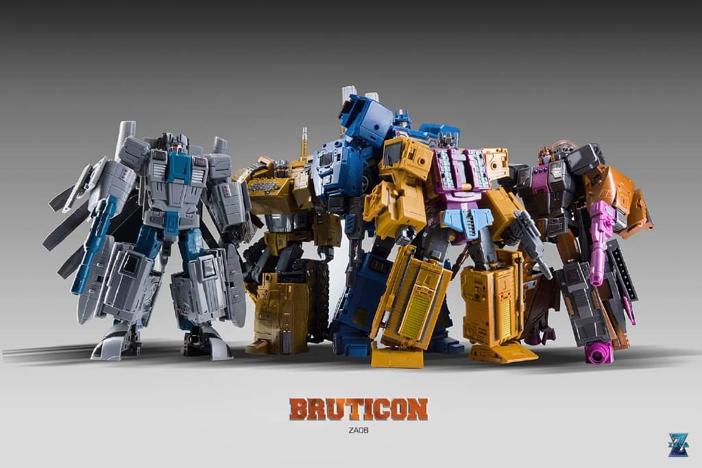 [Zeta Toys] Produit Tiers - Armageddon (ZA-01 à ZA-05) - ZA-06 Bruticon - ZA-07 Bruticon ― aka Bruticus (Studio OX, couleurs G1, métallique) - Page 5 IRREHkGC_o