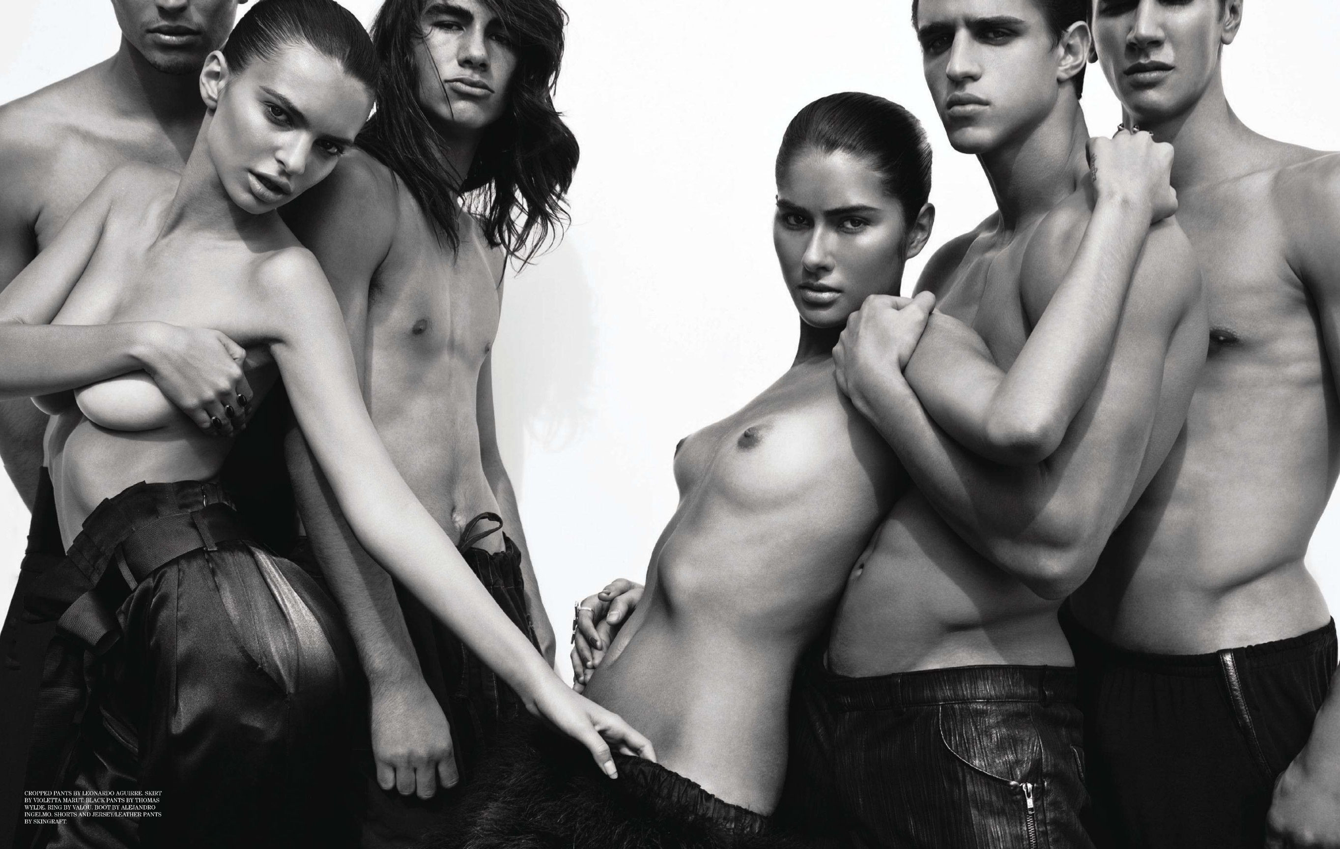 Emily Ratajkowski and other / The Casting by Tony Duran / Treats! Magazine issue 01 spring 2011
