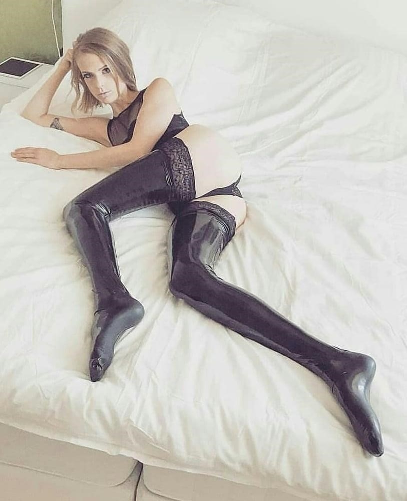Latex stockings porn pics-6637