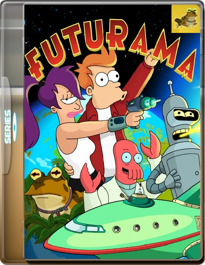 Futurama (Temporada 1) (1999) WEB-DL 1080p (60 FPS) Latino / Inglés