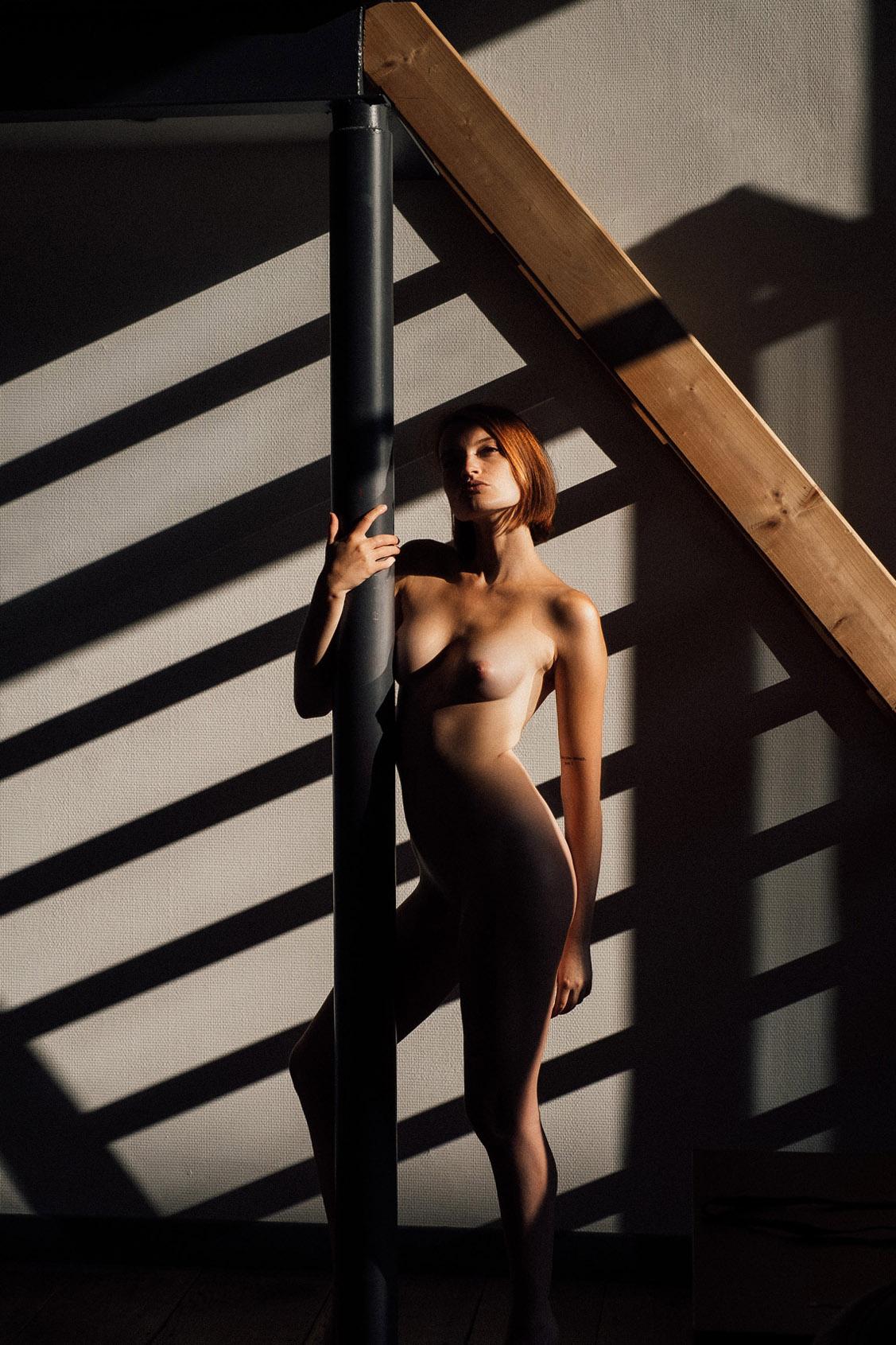 Morning Shadows / Mathilde Wnr by Julien LRVR / Yume Magazine