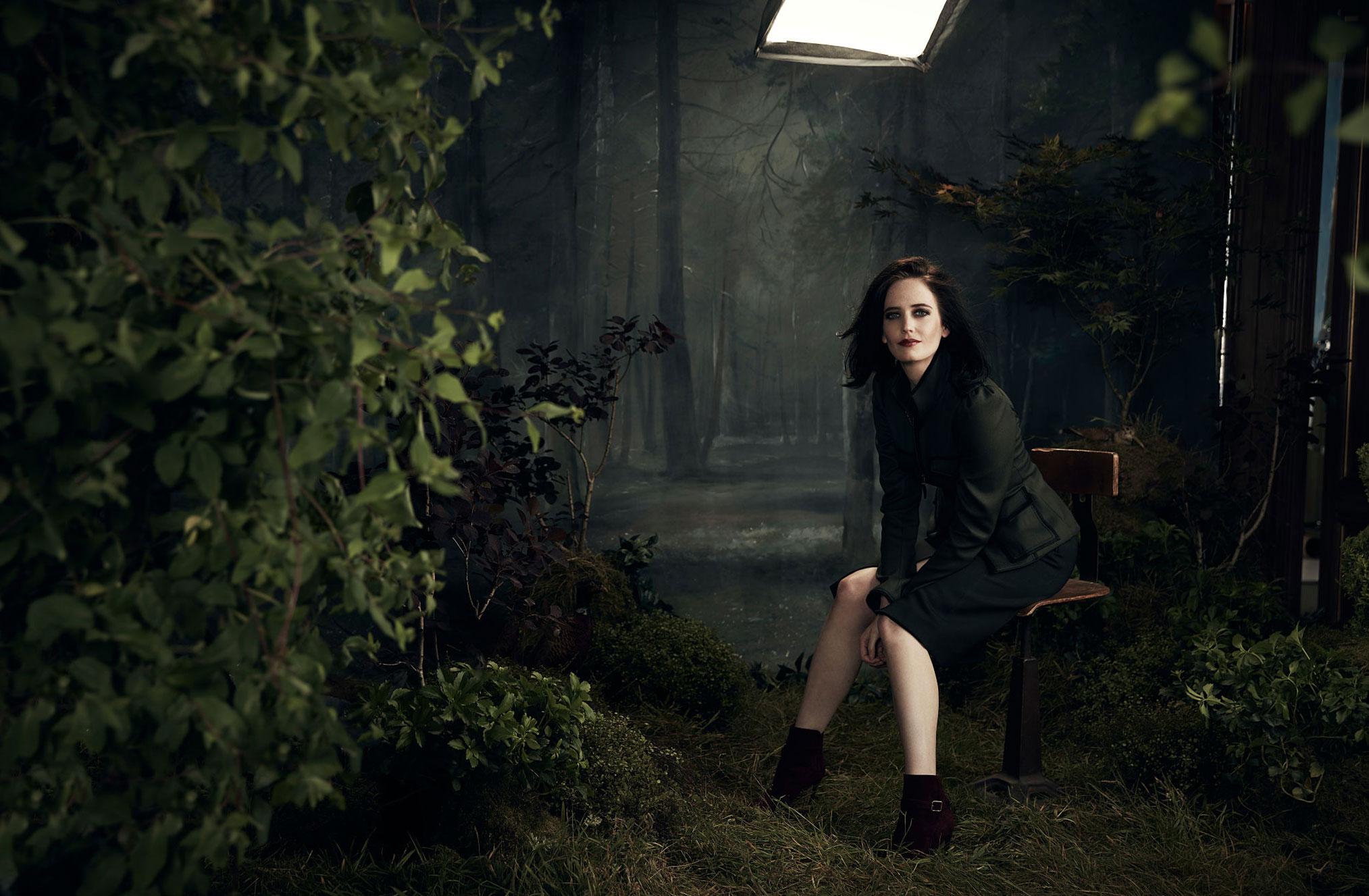 промосъемка Евы Грин для киностудии 20th Century Fox / фото 15