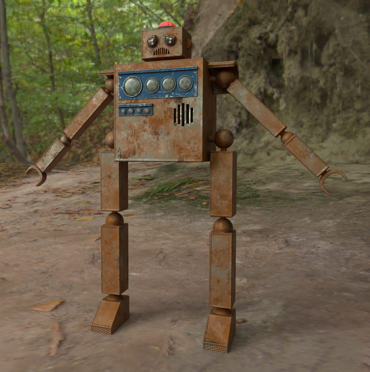 Robot Encounter – Texturing