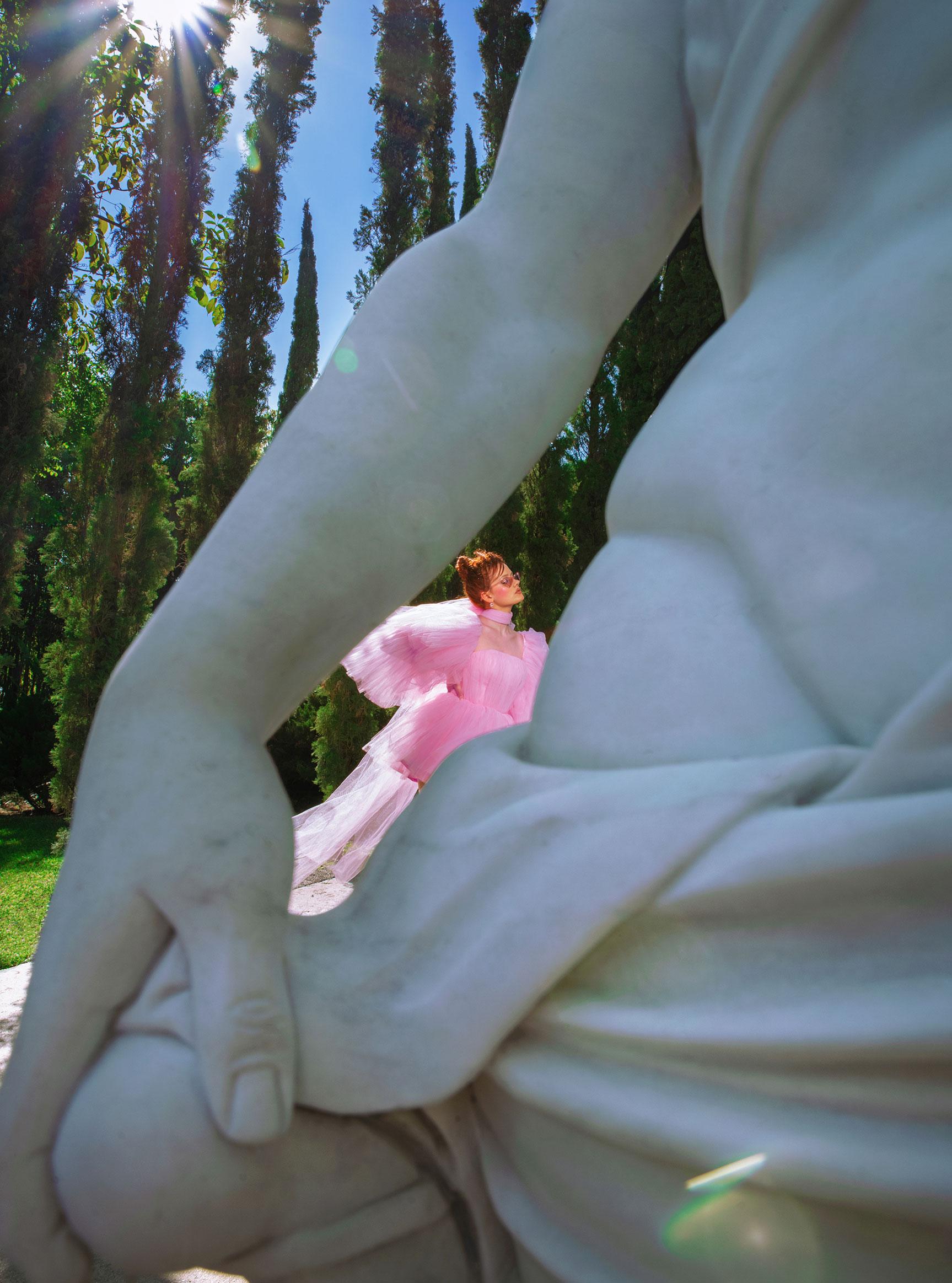 Три грации в рекламной кампании модной одежды Edher Gin, сезон весна-лето 2020 / фото 13