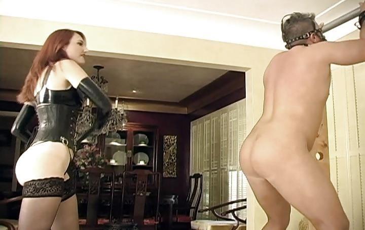 Mistress whips slaves-4997