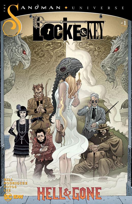 Locke & Key - Sandman - Hell & Gone #0-1 (2020)