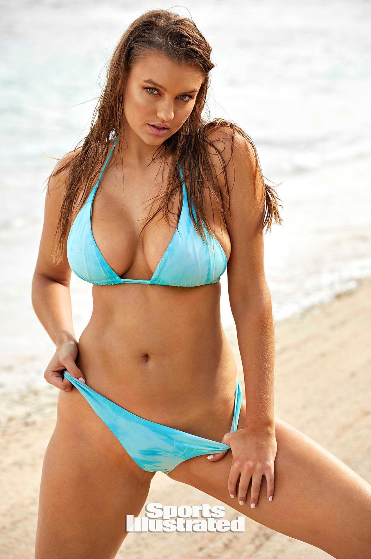 Оливия Брауэр в каталоге купальников Sports Illustrated Swimsuit 2020 / фото 06