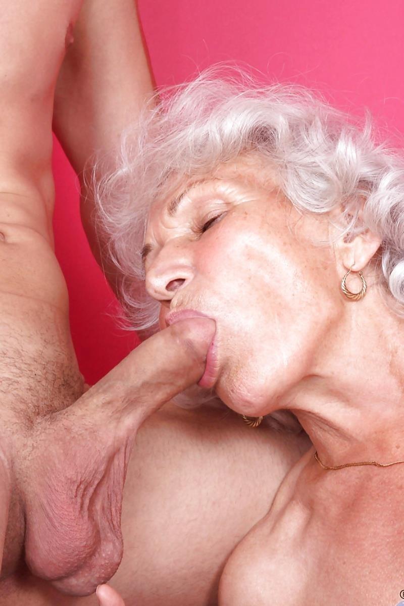 Teen and granny lesbian-8976