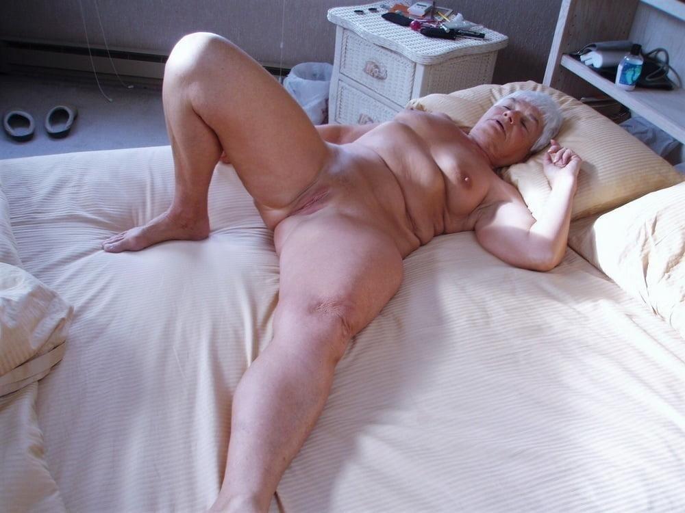 Chubby granny naked-8949