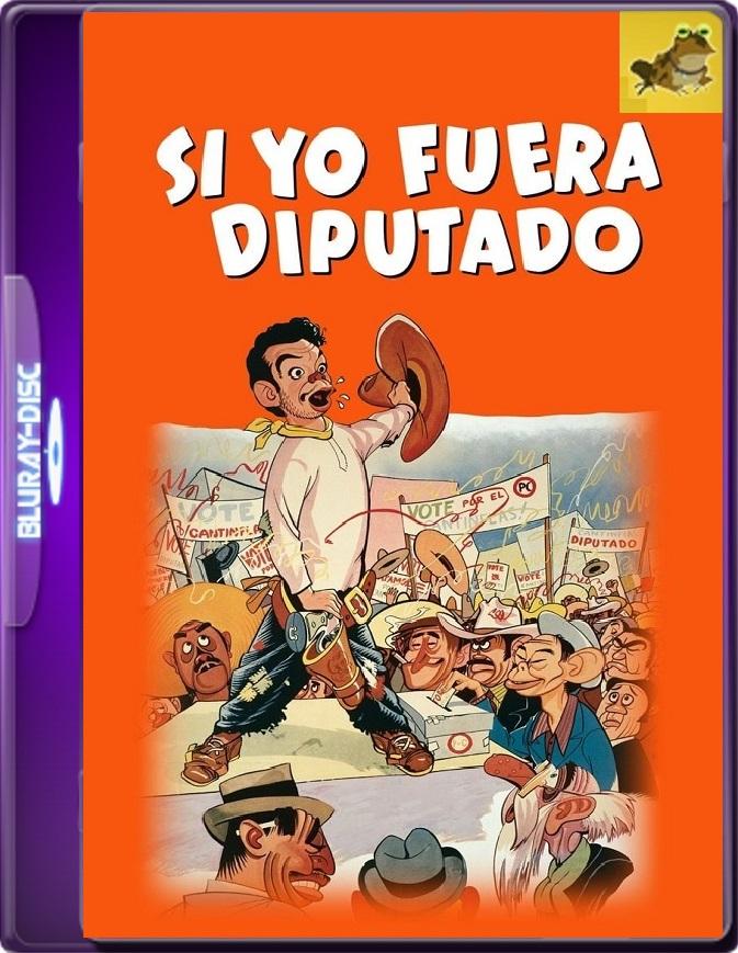 Si Yo Fuera Diputado (1952) WEB-DL 1080p (60 FPS) Latino